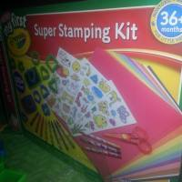 My First Super Stamping Kit by Crayola Review