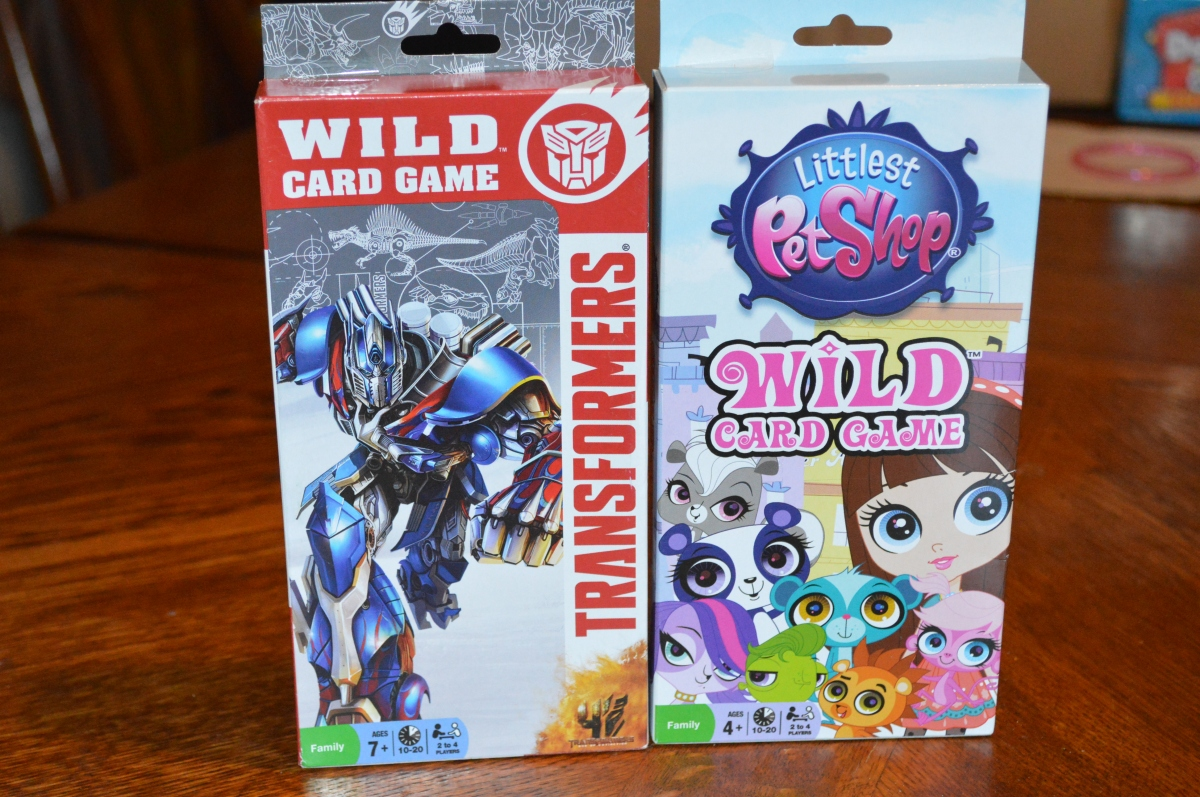 Wild Card Game by Winning Moves Games Review