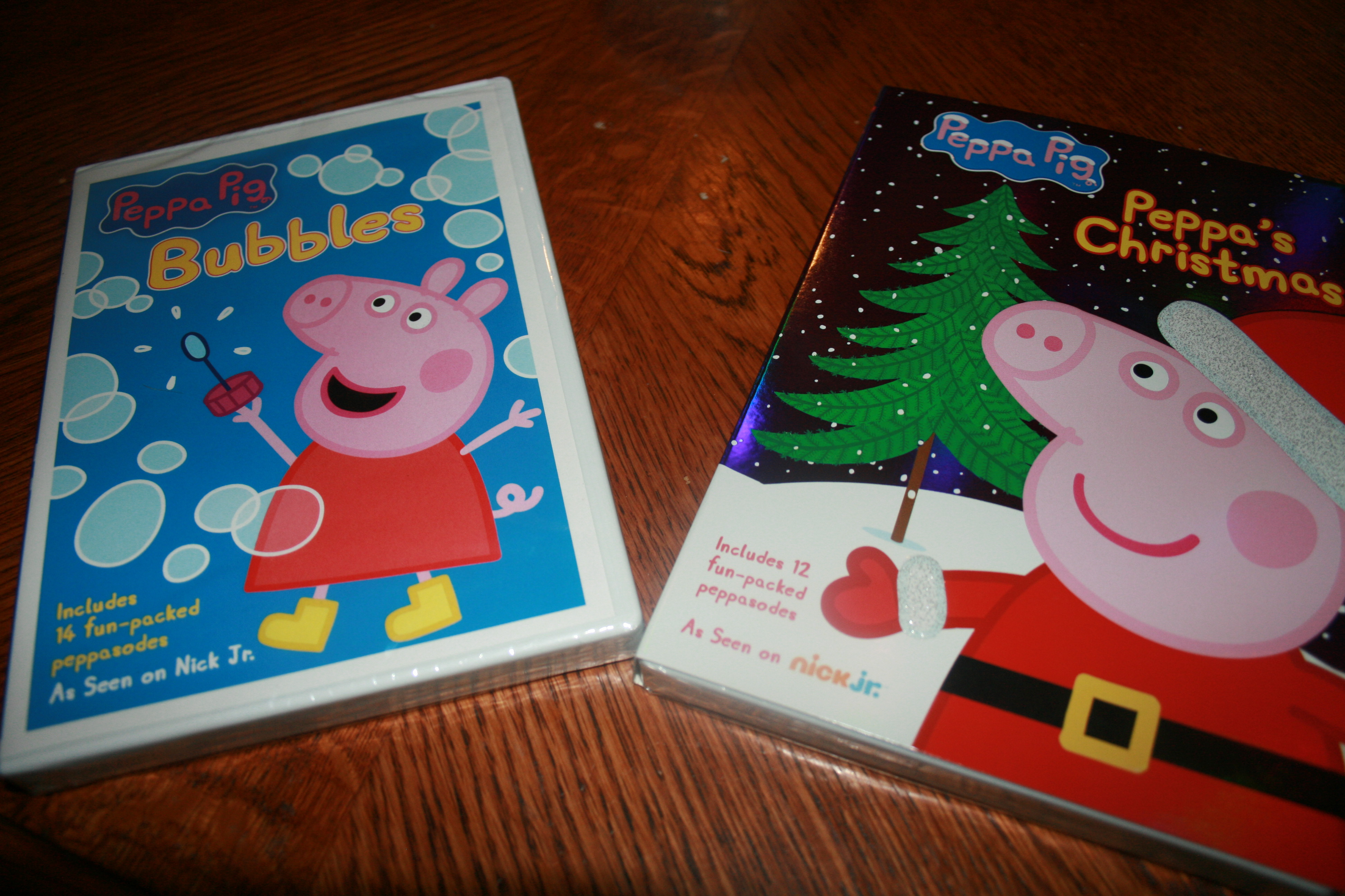 Peppa Pig Christmas Peppa Pig Bubbles 2014holidaygiftguide Review