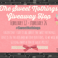 Sweet Nothings Giveaway Hop Ends 2/26 #SweetNothings