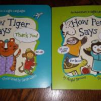 Reviews By Chelsea: How Tiger Says Thank You & How Penguin Says Please - Sterling Children's Books