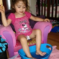 Perfectly Posh - Fabulous Fizzies Foot Soaks #Review #SpaDay #MommyDaughterTime