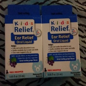 Kids Relief: Oral Ear Relief Medication for Ages 6 Months to 9 Years #Review #EarRelief #HomeopathicMedicines