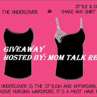 Undercover Mama Nursing Tank Giveaway Ends 7/16