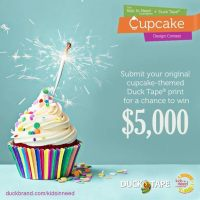 $5000 Giveaway In Honor of Kids In Need Foundation's 20th Birthday! Ends 8/12 #Giveaway  #cupcake4DuckTape