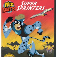 Reviews By Chelsea: Wild Kratts - Super Sprinters & Caillou Helps Out! #PBSKids #ReviewsByChelsea #ToddlerFavorites