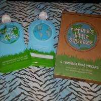 Nature's Little Squeeze Reusable Food Pouches for Toddlers! #Review #FiveLittleSprouts