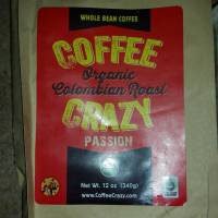 CoffeeCrazy's Organic & Fair Trade Colombian Roast #Review #CoffeeLovers #FrenchRoast