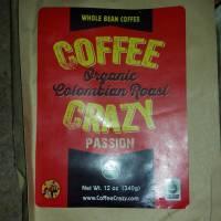 CoffeeCrazy's Organic & Fair Trade Colombian Roast #Review #CoffeeLovers #FrenchRoast