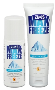Max-Freeze Gel and Roll-On