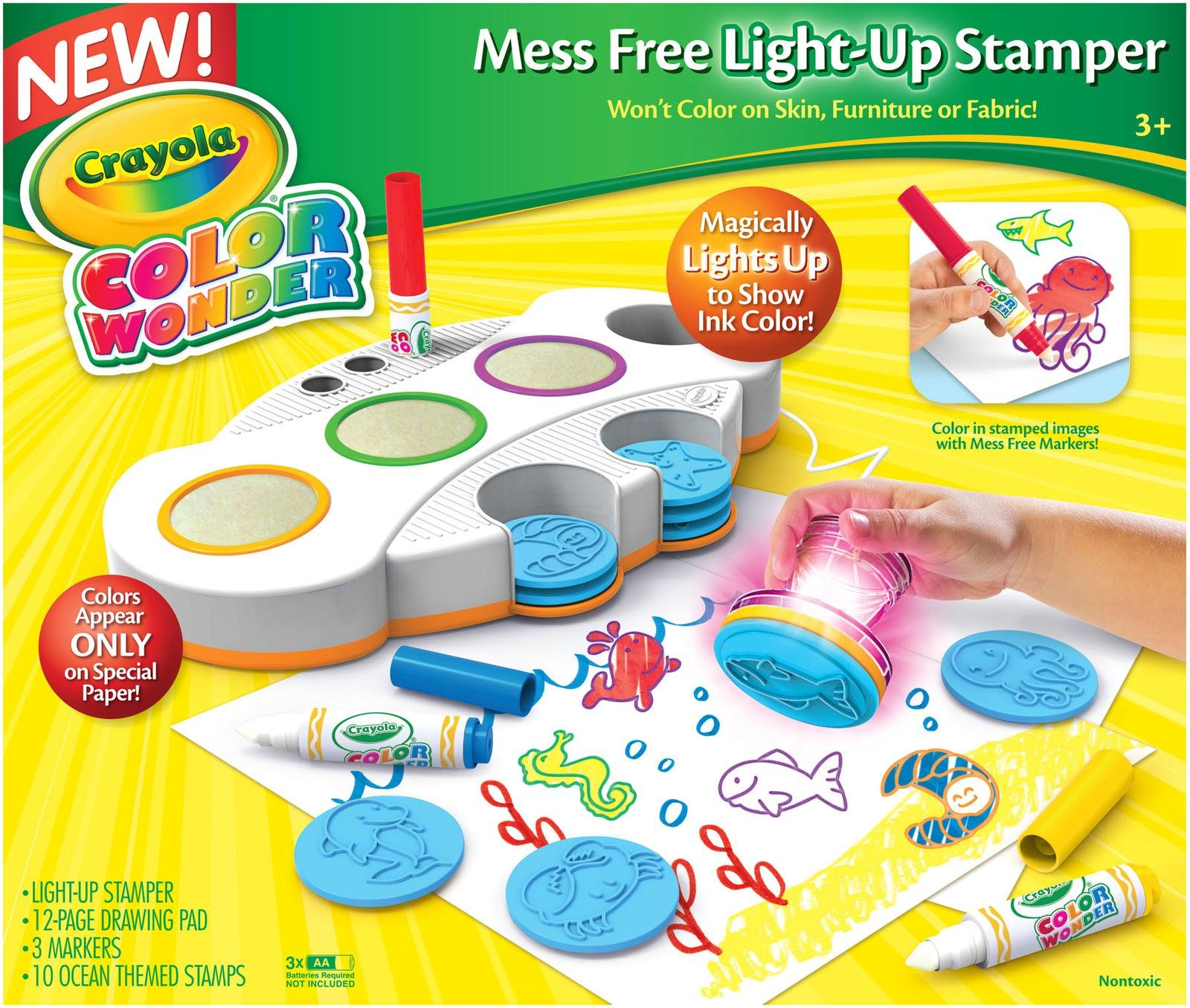crayola color wonder stamping kit