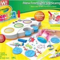 Crayola Color Wonder Light Up Stamper Activity Kit #2015HolidayGiftGuide #ColorWonder #ToddlerFavorites