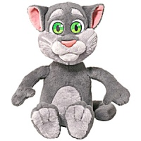 "Holiday Feature: 18"" Talking Tom a Hammacher Schlemmer Exclusive! #2015HolidayGiftGuide #TalkingTom #Hammacher"