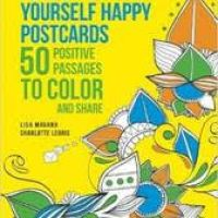 Sweet Gift Idea for The Stockings: Color Me Happy Postcards! #Coloring #Postcards #2016HolidayGiftGuide