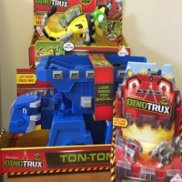 Gifts for The Kids: DinoTrux! #2016HolidayGiftGuide