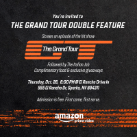 Amazon Prime Video Presents The Grand Tour Event at El Rancho DriveIn - Sparks Nevada! Prize Package Giveaway Ends 11/3/17 #AmazonPrime #TheGrandTour