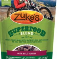 Yummy Treats for Dogs: Zuke's SuperFood Blend available at Chewy.com! #DogTreats #Woof #ZukesSuperFoodBlend